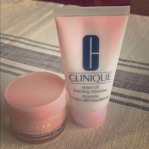 Clinique Moisture Surge & Foaming Cleanser